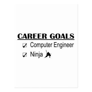 Metas de la carrera de Ninja - ingeniero Postales