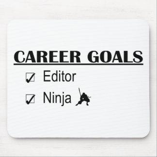 Metas de la carrera de Ninja - redactor Mousepad