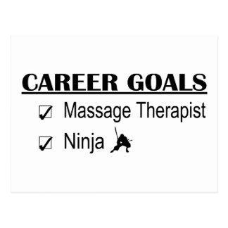 Metas de la carrera de Ninja - terapeuta del Tarjetas Postales