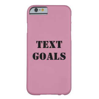 Metas del texto funda barely there iPhone 6