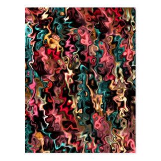 Metas grandes del arte abstracto tarjeta postal