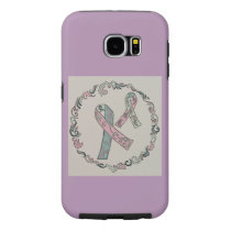 Metastatic Breast Cancer Awareness Ribbons Samsung Galaxy S6 Case