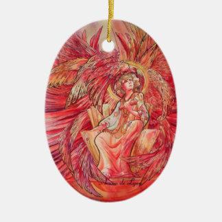 Metatron Ceramic Ornament