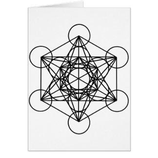 Metatron Cube Card
