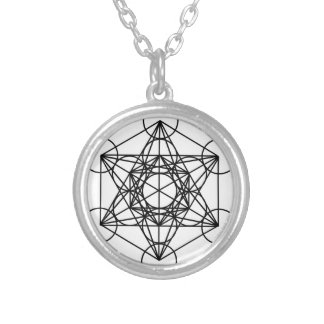 Metatrons cube necklaces lockets zazzle for Metatron s cube jewelry