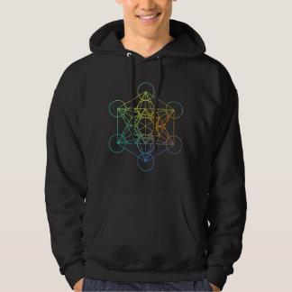 Metatron Cube Sacred Geometry Hoodie