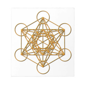 Metatron Drop Shadow Notepad