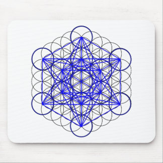 Metatron Flower Mouse Pad