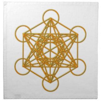 Metatron Gold Glow Napkin