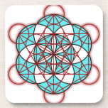 Metatron Red Drink Coasters