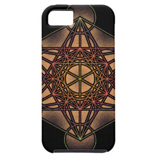 Metatron s Cube - Sacred Geometry Symbol iPhone 5 Cover