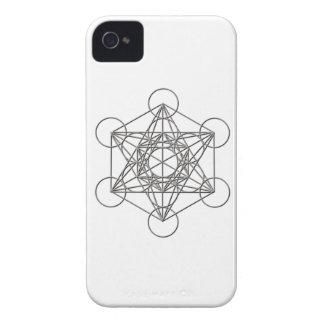 Metatron Silver Shadow Case-Mate iPhone 4 Case