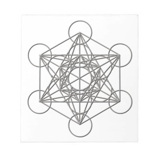 Metatron Silver Shadow Notepad