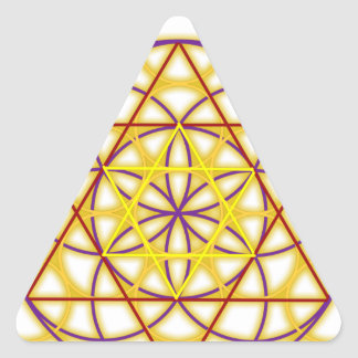 MetatronGlow Colcomanias Triangulo Personalizadas