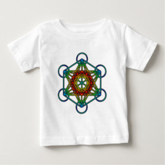 Metatron's Cube (Color 1) Baby T-Shirt