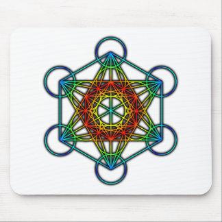Metatron's Cube (Color 1) Mouse Pad