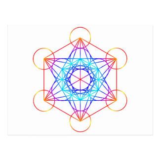 Metatron's Cube (Color 2) Postcard