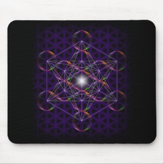 Metatron's Cube/Flower of Life #2 Mouse Pad