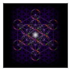 Metatron's Cube/Flower of Life #2 Poster