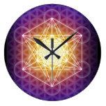Metatron's Cube/Flower of Life Clock