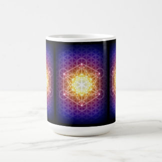 Metatron's Cube/Flower of Life Coffee Mug