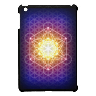 Metatron's Cube/Flower of Life Case For The iPad Mini
