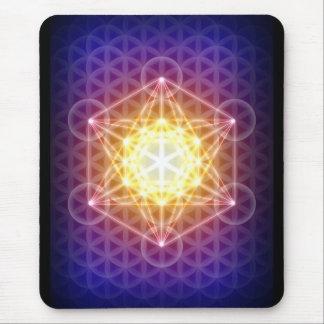 Metatron's Cube/Flower of Life Mousepad