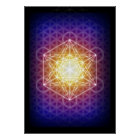 Metatron's Cube/Flower of Life Poster