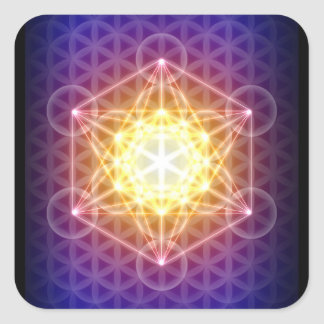 Metatron's Cube/Flower of Life Sticker