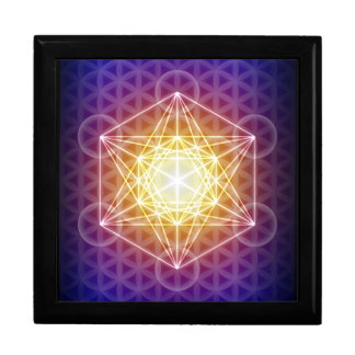 Metatron's Cube/Flower of Life Trinket Box