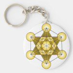 Metatron's Cube Keychain