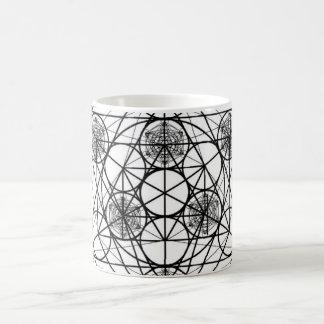 Metatron's Cube Magic Mug
