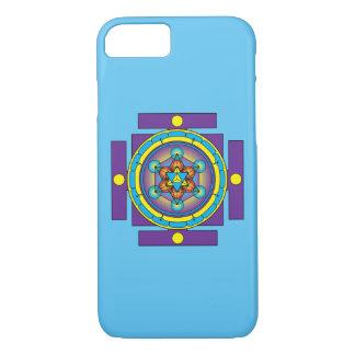 Metatron's Cube Merkaba Mandala iPhone 8/7 Case