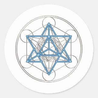 Metatrons cube - Merkaba - star tetrahedron