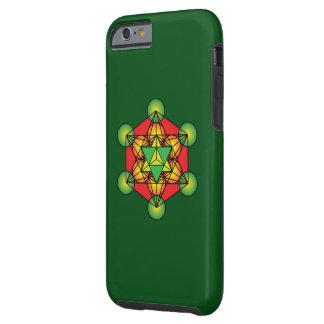 Metatron's Cube Merkaba Tough iPhone 6 Case