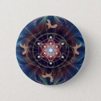 Metatron's Cube - Merkabah Button