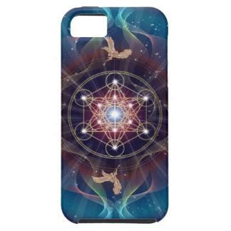 Metatron's Cube - Merkabah iPhone SE/5/5s Case