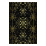 Metatron's Cube Network Poster