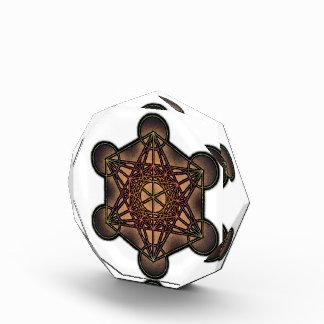 Metatron's Cube - Sacred Geometry Symbol Award