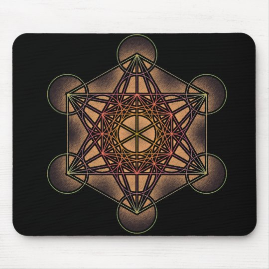 Metatron's Cube - Sacred Geometry Symbol Mouse Pad