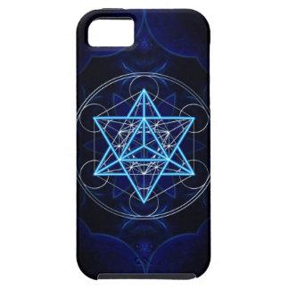 Metatrons dado - Merkaba estrella Tetraeder - iPhone 5 Carcasas