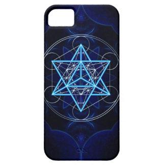 Metatrons dado - Merkaba estrella Tetraeder - iPhone 5 Fundas