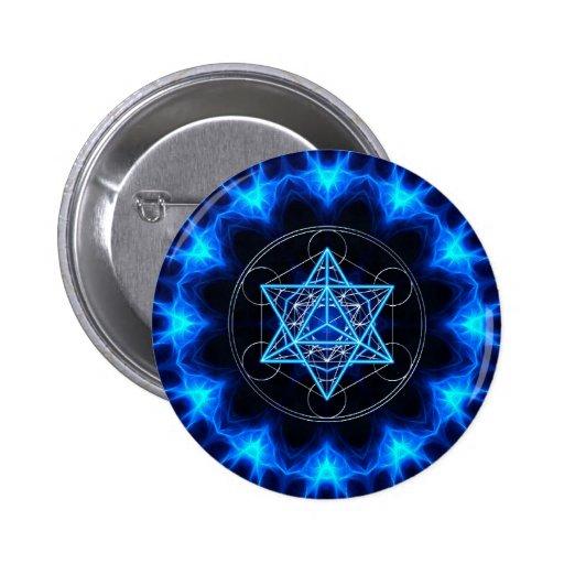 Metatrons dado - Merkaba estrella Tetraeder - Pins