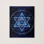 Metatrons dado - Merkaba estrella Tetraeder - Puzzles