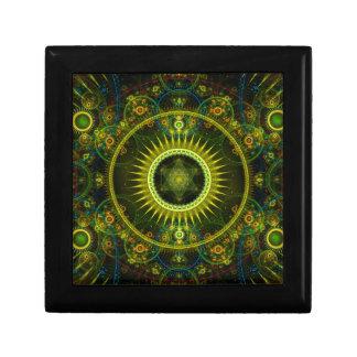 """Metatron's Magick Wheel"" - Fractal Art Keepsake Box"