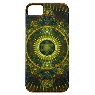 """Metatron's Magick Wheel"" - Fractal Art iPhone SE/5/5s Case"