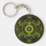 """Metatron's Magick Wheel"" - Fractal Art Key Chain"