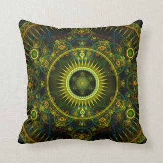 """Metatron's Magick Wheel"" Sacred Geometry Pillow"