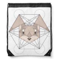 Metatron's Rabbit Drawstring Backpack