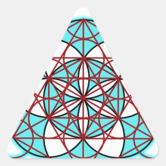 MetatronTGlow Calcomanías Trianguladas Personalizadas